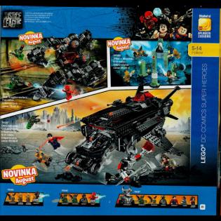 LEGO Super Heroes 76085 Bitka o Atlantídu