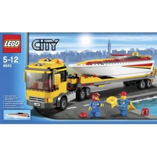 LEGO City 4643 Preprava pretekárskeho člnu