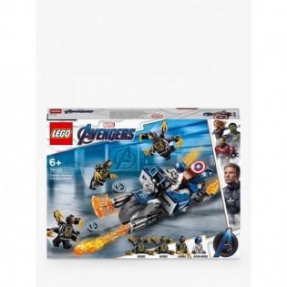 LEGO Captain America 76123 Útok Outriderov