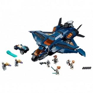 LEGO Captain America 76126 Úžasný tryskáč Avengerov Quinjet