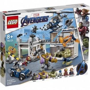 LEGO Captain America 76131 Boj o základňu Avengerov