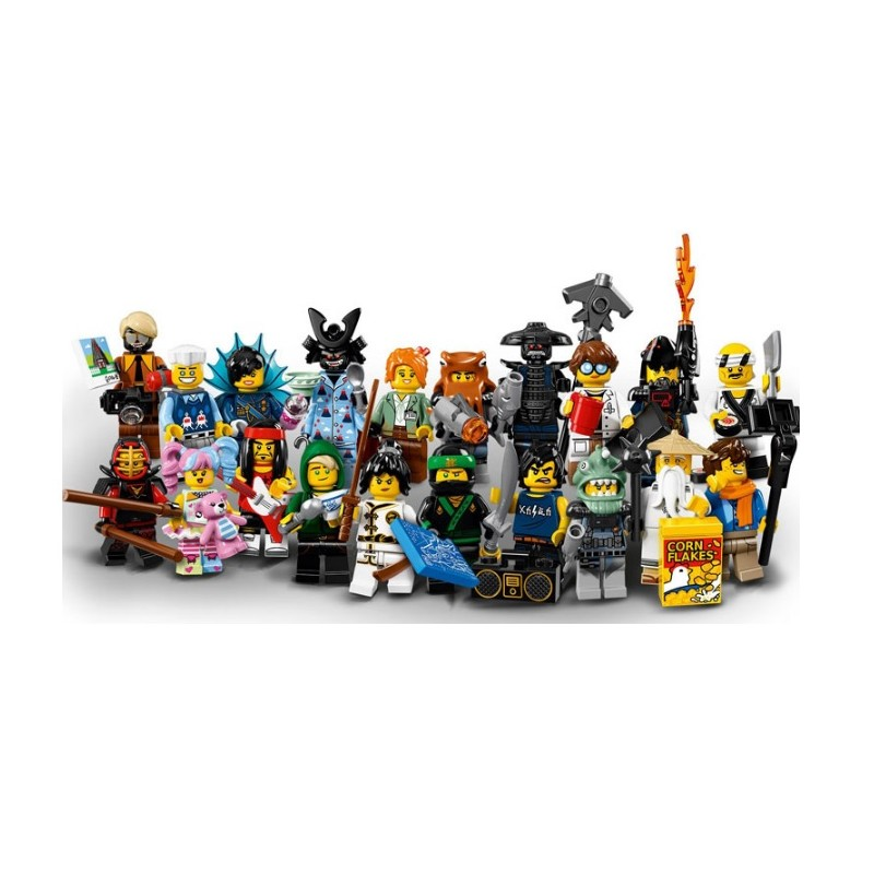 LEGO 71019 Minifigúrky The LEGO Ninjago Movie