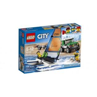 LEGO City 60149 4x4 s katamaránom