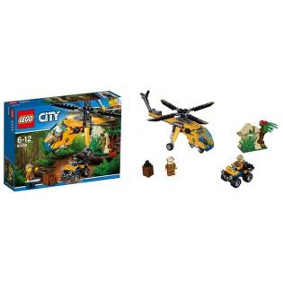 LEGO City 60158 Džungľa - nákladná helikoptéra