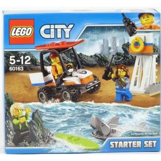 LEGO City 60163 Pobrežná hliadka štartovacia súprava