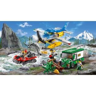 LEGO City 60175 Lúpež na horskej rieke
