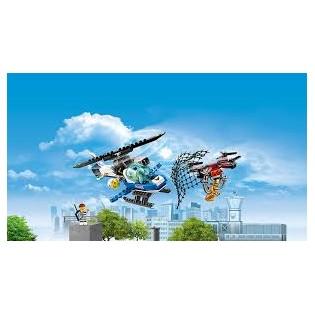 LEGO CITY 60207 Policajná naháňačka s dronom
