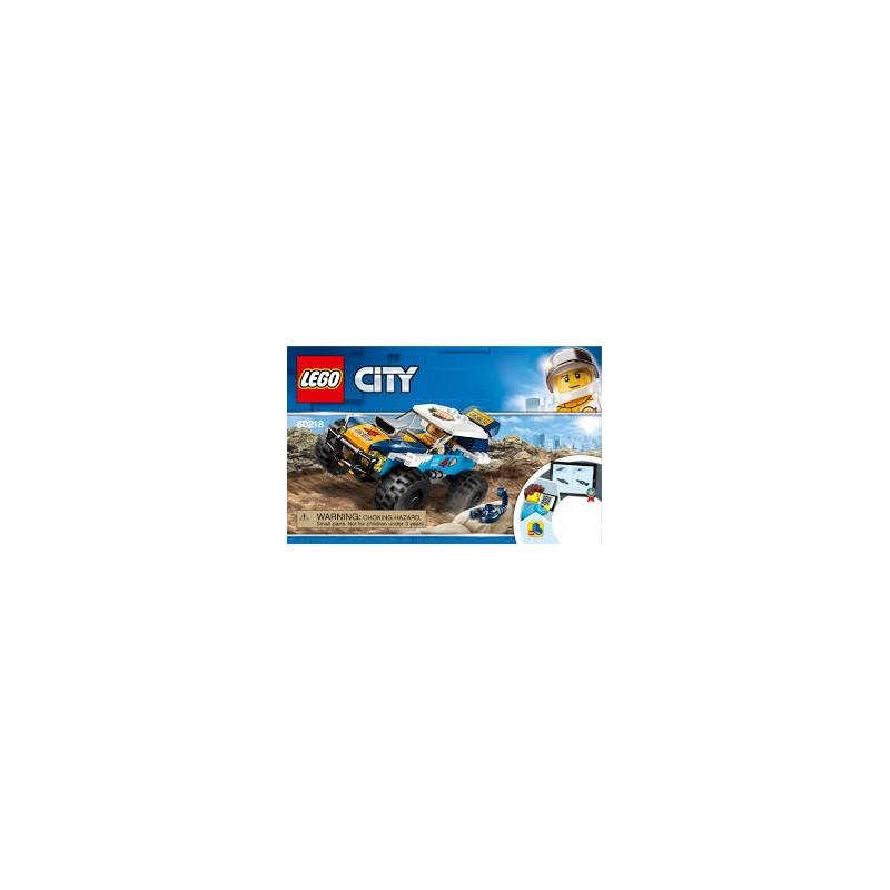 LEGO City 60218 Púštne pretekárske auto