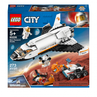LEGO City 60226 Raketoplán skúmajúci Mars
