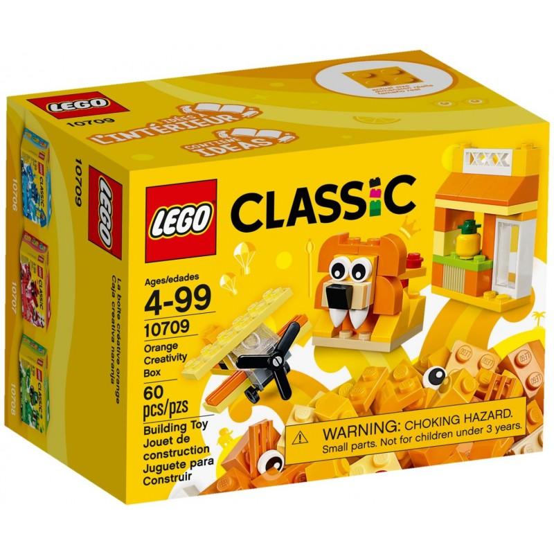 LEGO Classic 10709 Oranžový kreatívny box
