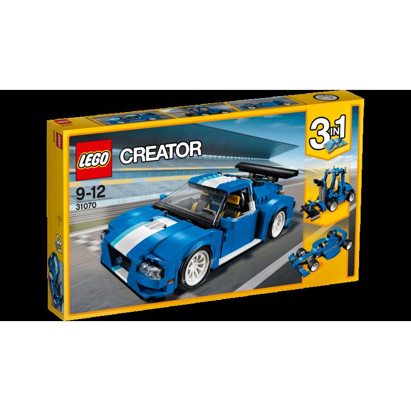 LEGO Creator 31070 Turbo pretekárske auto