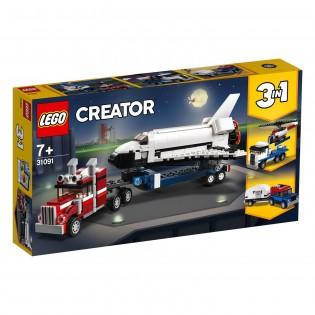 LEGO Creator 31091 Kamión na prepravu raketoplánu