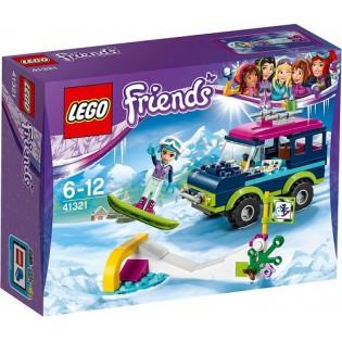 LEGO Friends 41321 Terénne vozidlo v zimnom stredisku