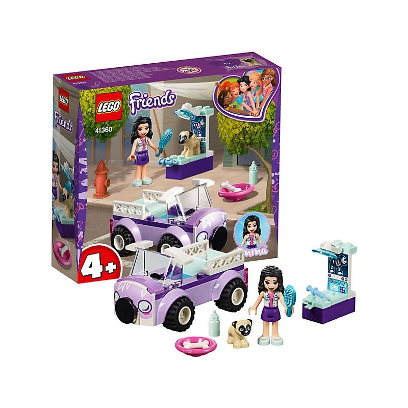 LEGO Friends 41360 Emma a pojazdná veterinárna klinika