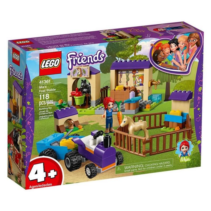 LEGO Friends 41361 Mia a stajňa pre žriebä