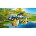 LEGO Friends 41364 Stephanie a jej bugina a príves