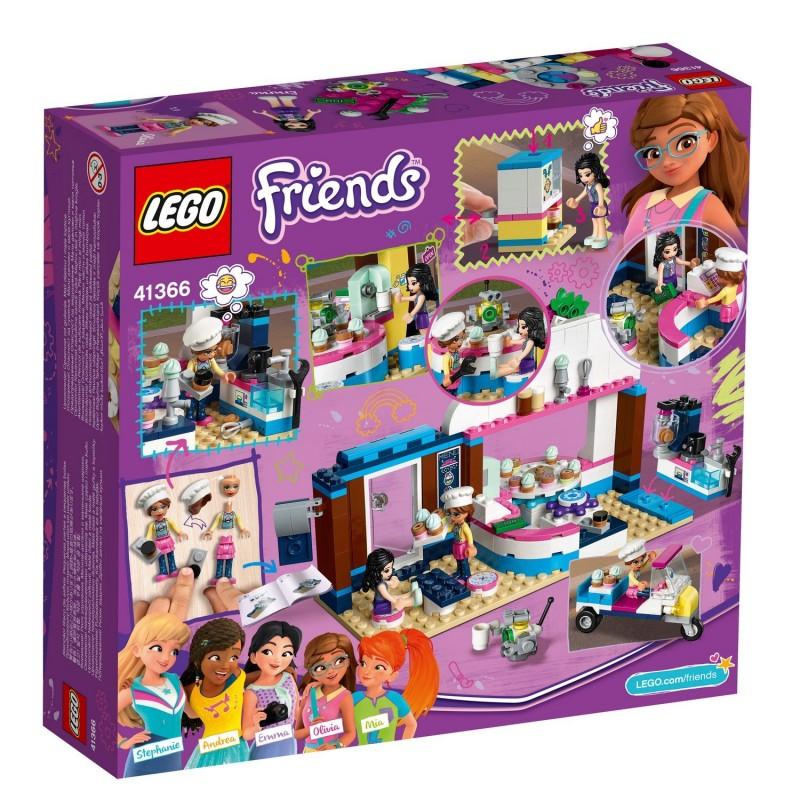 LEGO Friends 41366 Olivia a jej kaviareň a cukráreň