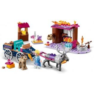 LEGO Disney Frozen 41166 Elsa a dobrodružstvo s povozom