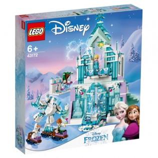 LEGO Disney 43172 Elsa a jej čarovný ľadový palác