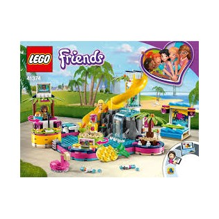 LEGO Friends 41374 Andrea a party pri bazéne