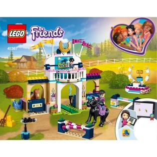 LEGO Friends 41367 Stephanie a jej konská show