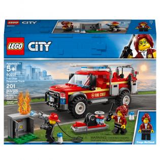 LEGO City 60231 Zásahové vozidlo veliteľky hasičov