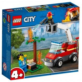 LEGO CITY 60212 Požiar pri grilovaní