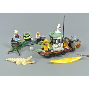 LEGO HIDDEN Side 70419 Stará rybárska bárka