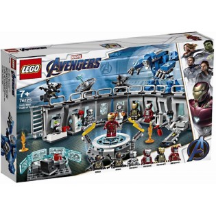 LEGO Captain America 76125 Iron Man a jeho obleky