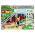 LEGO DUPLO 10872 Vlakový most a koľajnice