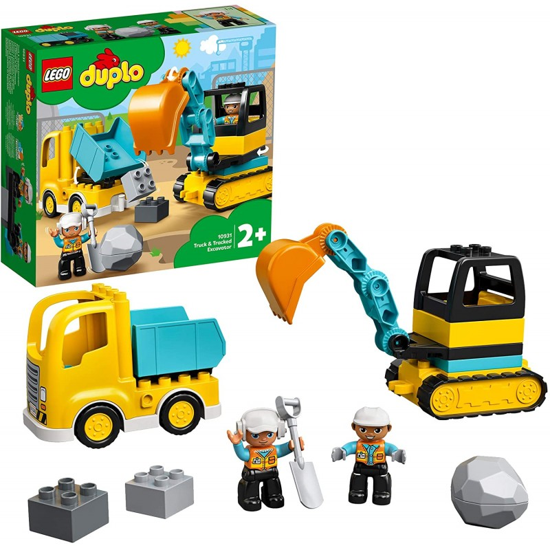 LEGO DUPLO 10931 Nákladiak a pásový bager