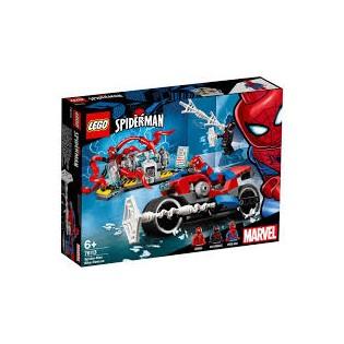 LEGO Super Heroes 76113 Spiderman a záchrana na motorke