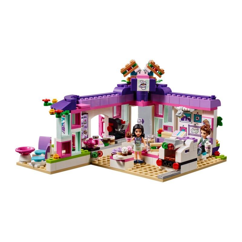 LEGO Friends 41336 Emma a jej umelecká kaviareň