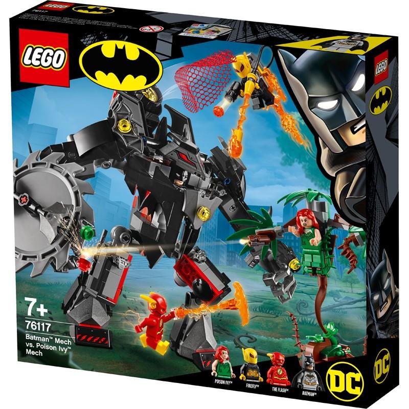 LEGO Super Heroes 76117 Robot Batman vs. robot Poison Ivy