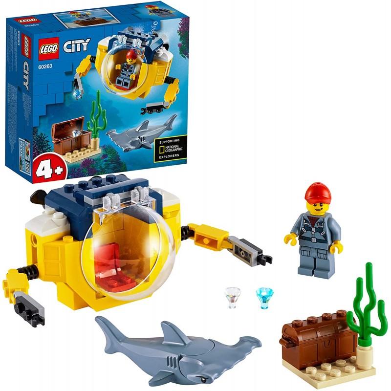 Lego City 60263 Oceánska miniponorka
