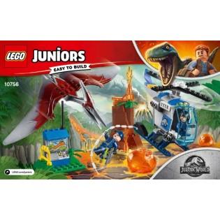 LEGO Jurassic World 10756 Útek Pteranodona